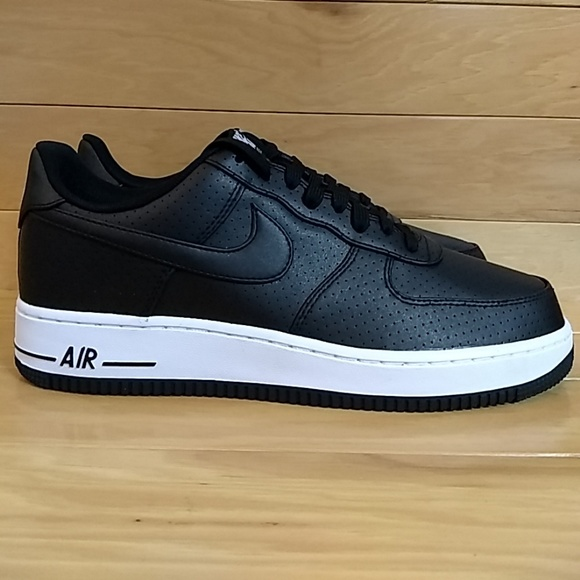 746c5c45a Nike Shoes | Air Force 1 One Black White Shoe 718152014 | Poshmark